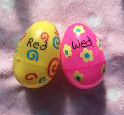 Minimal Pair Eggs