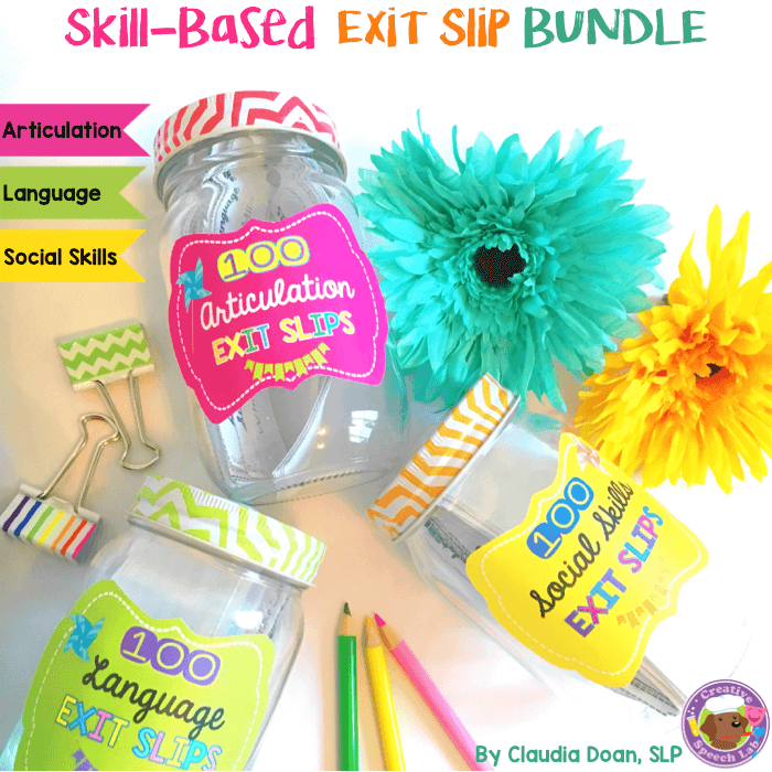 Skill-Based Exit Slip Bundle Cover