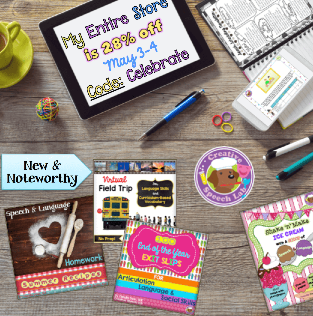 May 2016 TpT Sale Graphic PNG