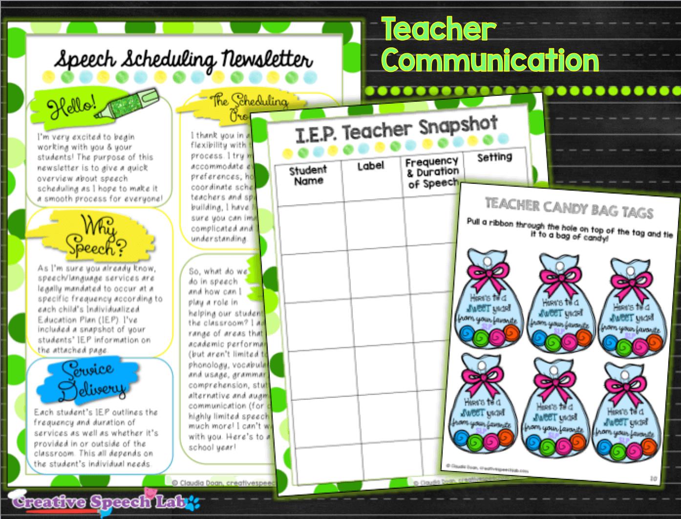 Teacher Communication Revised