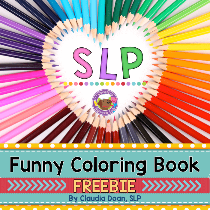 Funny Coloring Book Cover