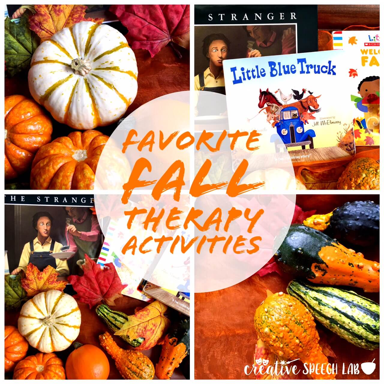 Bringing Fall Finds into Speech Therapy