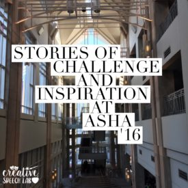 Stories of Challenge and Inspiration at ASHA '16