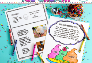 Updated Shake & Make Ice Cream for Speech and Language