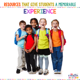 #ResourcesThatGive students a memorable learning experience