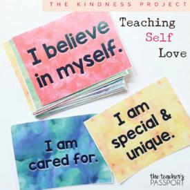 The Kindness Project: Teaching Self-Love {The Teacher's Passport}