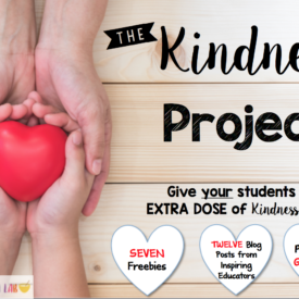 The Kindness Project {Giveaway and Takeaways}
